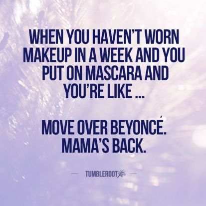 mascara quote