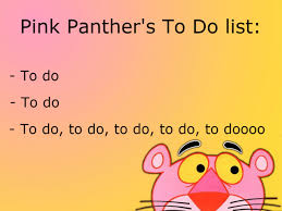 pink panther list