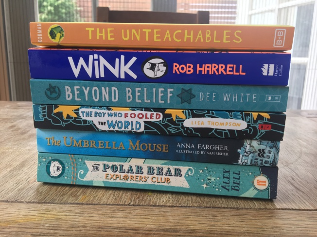 kids book stack march 20
